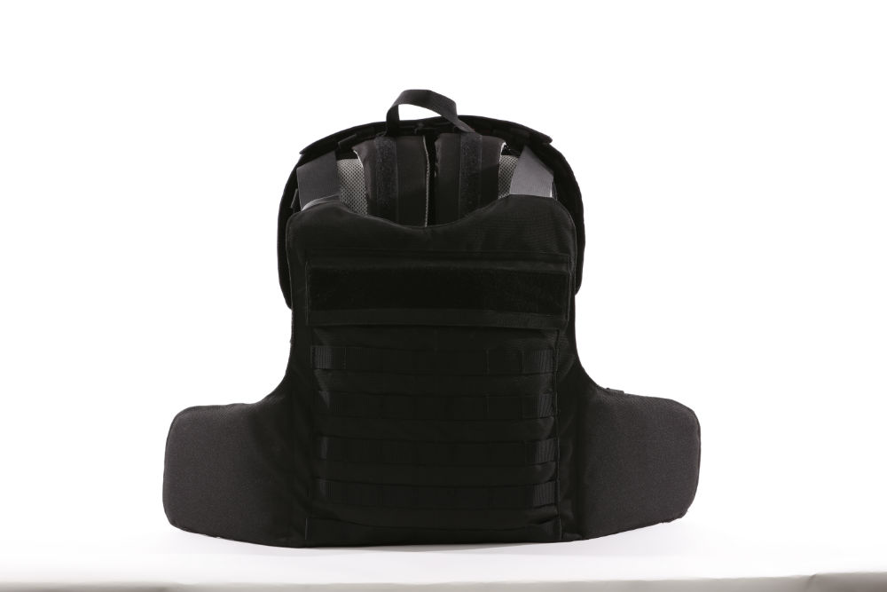 bulletproof backpack protection