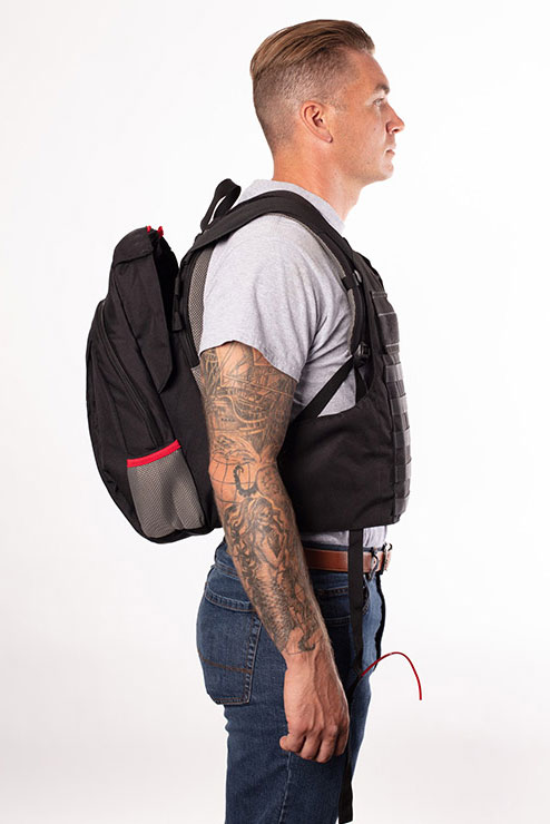 Bulletproof Backpack Commuter Model