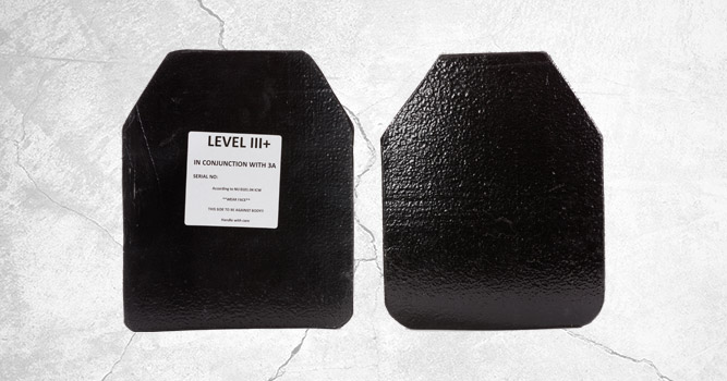 standard bodyguard ballistic plate and backpack insert