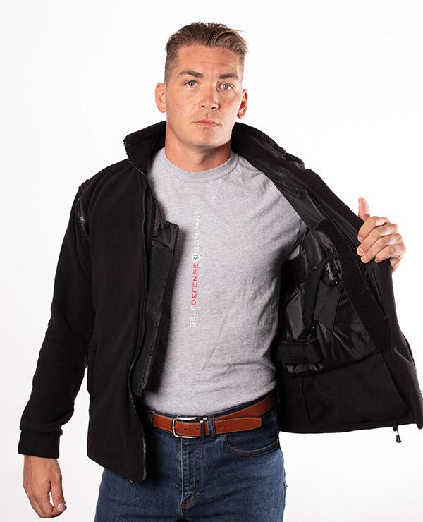conceal carry back up bulletproof jacket