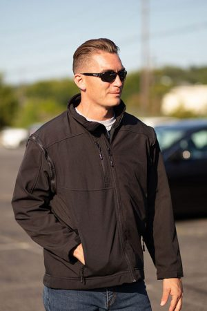 Bulletproof Jacket with Heavy Duty Outer Shell