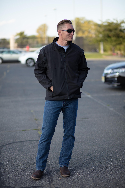 Bodyguard Heavy Duty Bulletproof Jacket on the Street