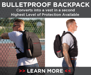 self defense company bullet proof bodyguard backpack