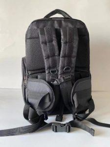 switchblade bulletproof backpack back view